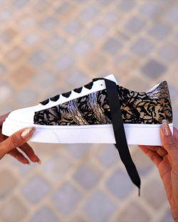 Sneakers – Femme – Baroque – Élégante